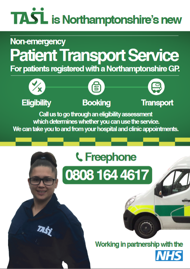 Non-Emergency Patient Transport Service